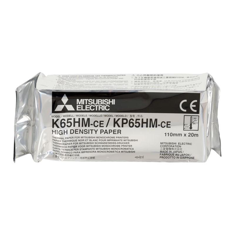 Papier thermique haute densité K65HM-CE