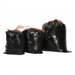 Sacs-poubelle noirs liens...