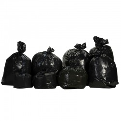Sacs-poubelle noirs...